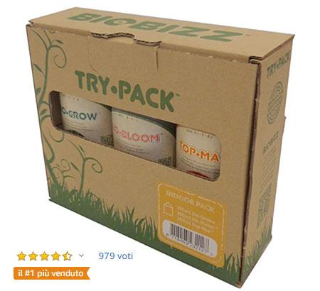 Fertilizzanti BioBizz Trypack